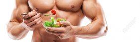 Rutina de ejercicios y nutrición